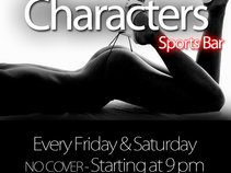 Characters Sports Bar & Music Venue