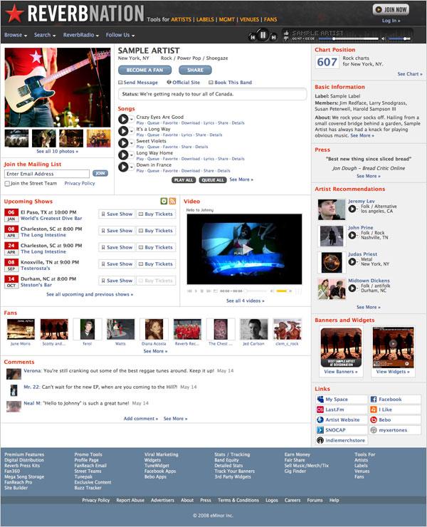 Online Music Tool Breakdown: Reverbnation | pr2buzz.com